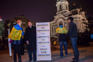 Сергей Косяк, пастор, волонтер, организатор молитвенной палатки в Донецке